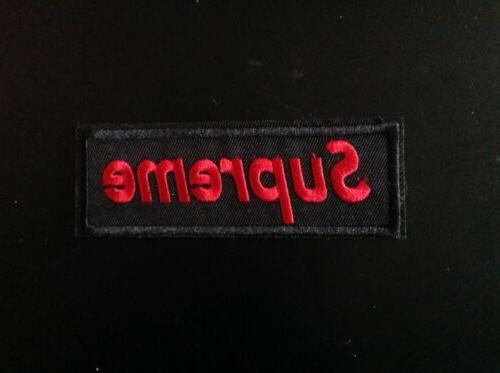 "4.5"" SUPREME PATCH RED SELLER!!"