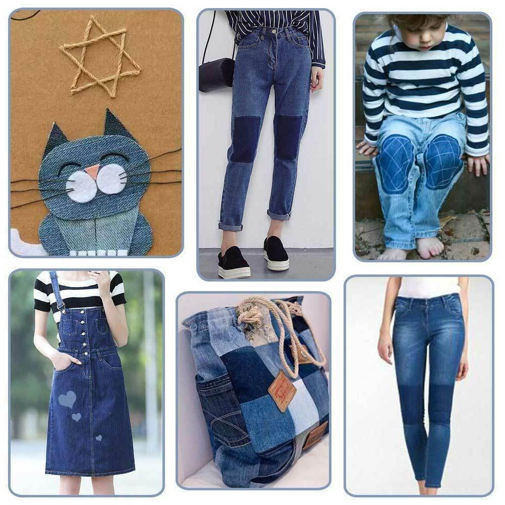 5 Colors on Denim for