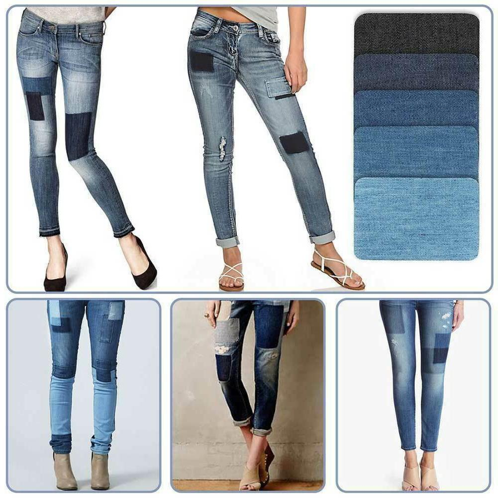 5 Colors on Denim for Clothing Jeans Kit