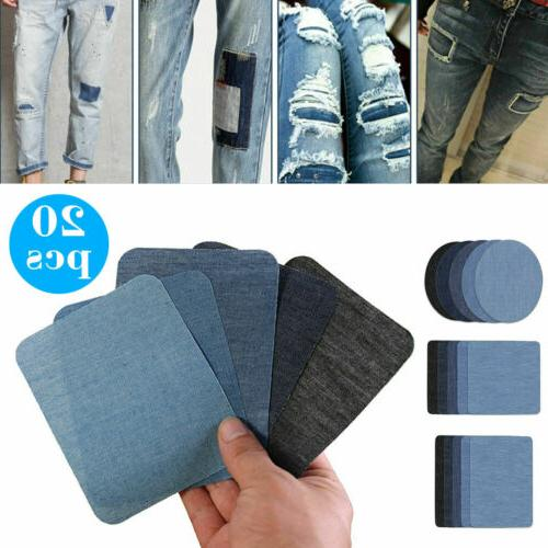 5 Colors on Fabric for Clothing Kit(20pcs