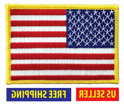 american flag embroidered patch iron
