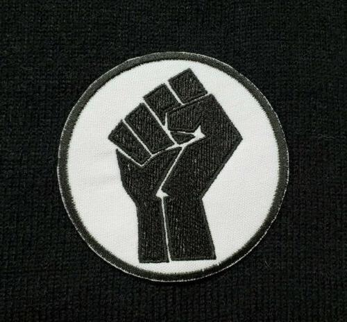 BLM Black Matter Sew/Iron-On Equality Protest Accessories