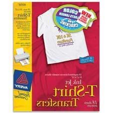 Avery Consumer Products : Iron-On T-Shirt Transfers, 6 Trans