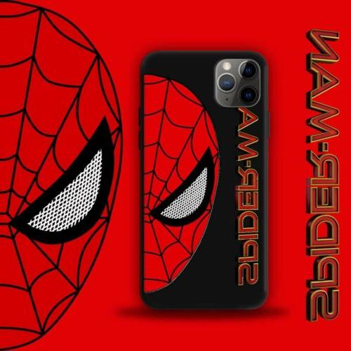 Creative Cartoon Iron Man Spiderman Cover For iPhone11Pro 8 XS Max