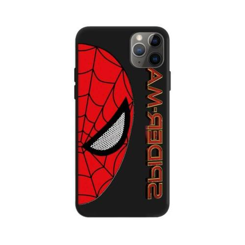 Creative Cartoon Man Spiderman Cover For iPhone11Pro 8 XR XS