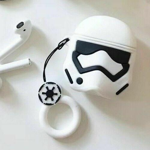 Cute Cartoon Silicone Case cover For AirPod 1 & 2 Charging Case