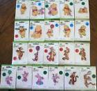 Disney Winnie the Pooh Collection Iron On sew On Applique Pa