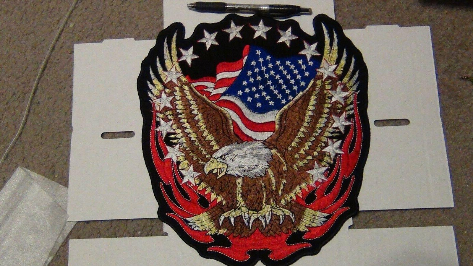 Embroidered American USA