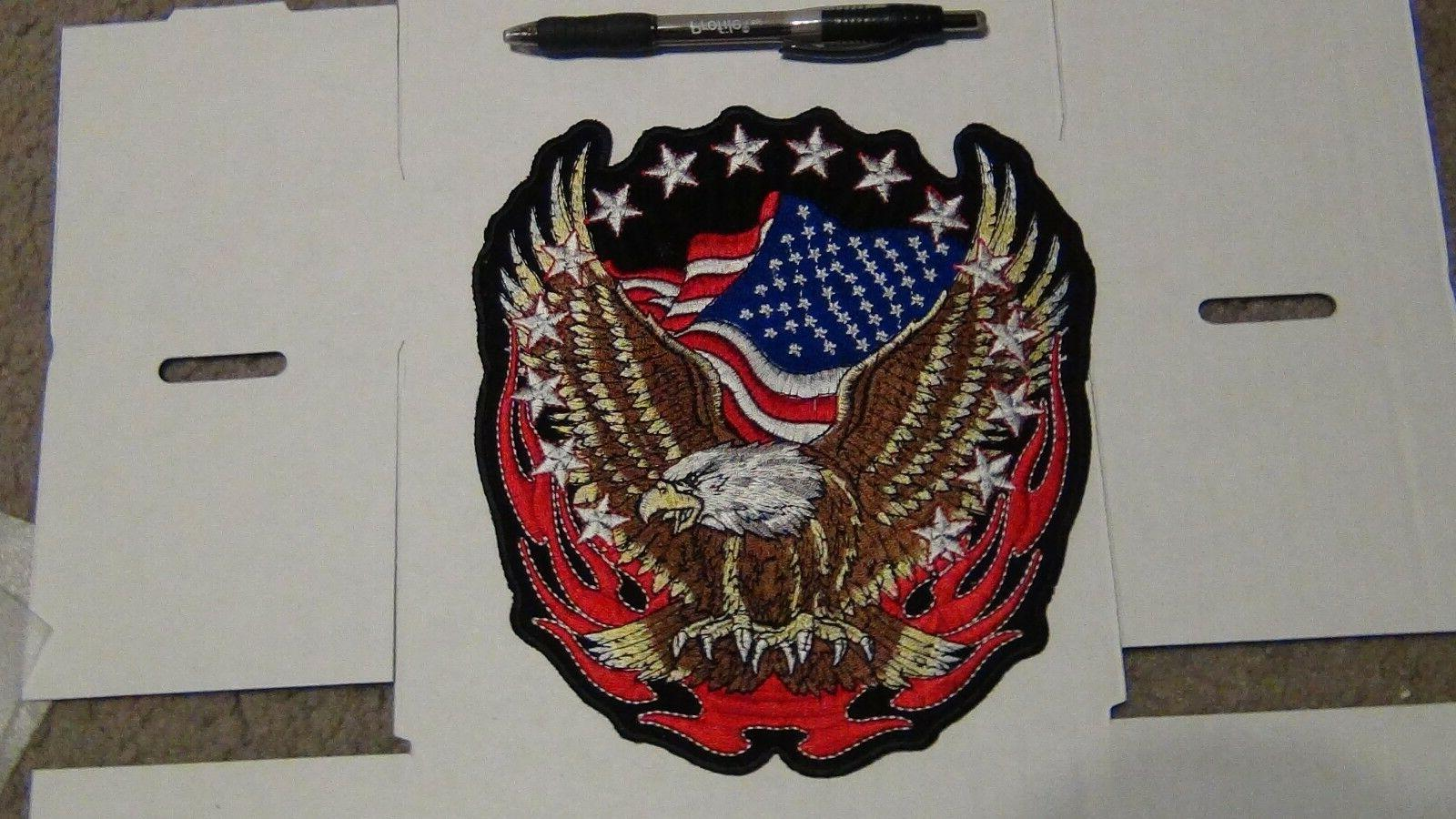 Embroidered American patches Choose USA