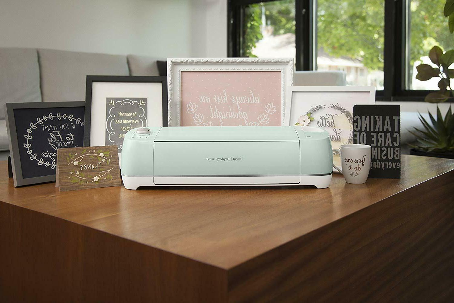 Cricut Machine Mint Persimmon Blossom