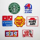 FOOD & DRINK BRAND LOGO Iron-on Patch Collection - Sets of P
