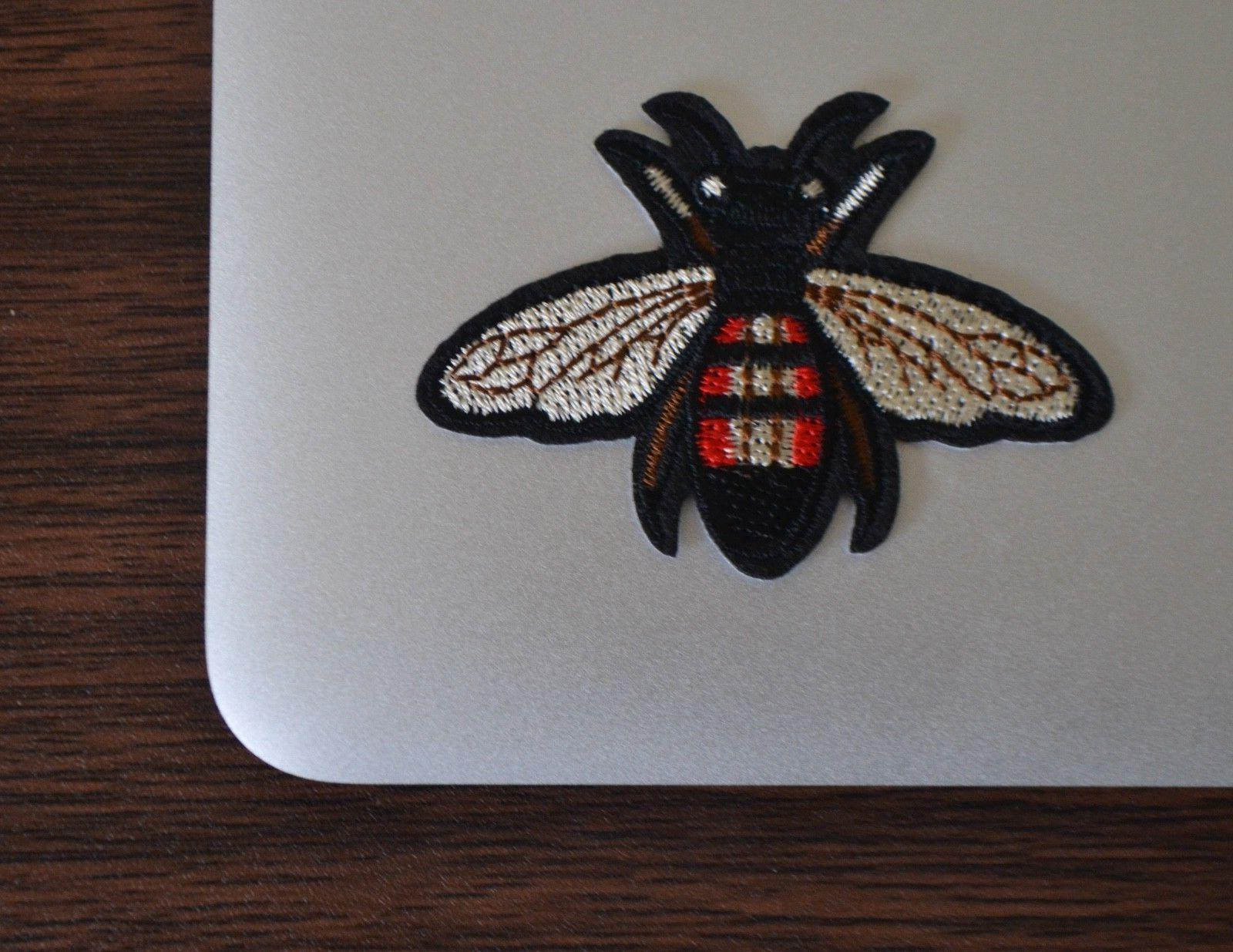Gucci Style Bee Iron On Applique/Embroidered Patch Fabric Cr