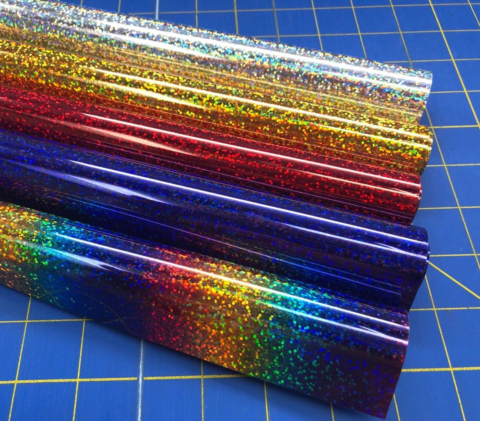 Siser Holographic Iron On Heat Transfer 5 Ft Roll for Cricut