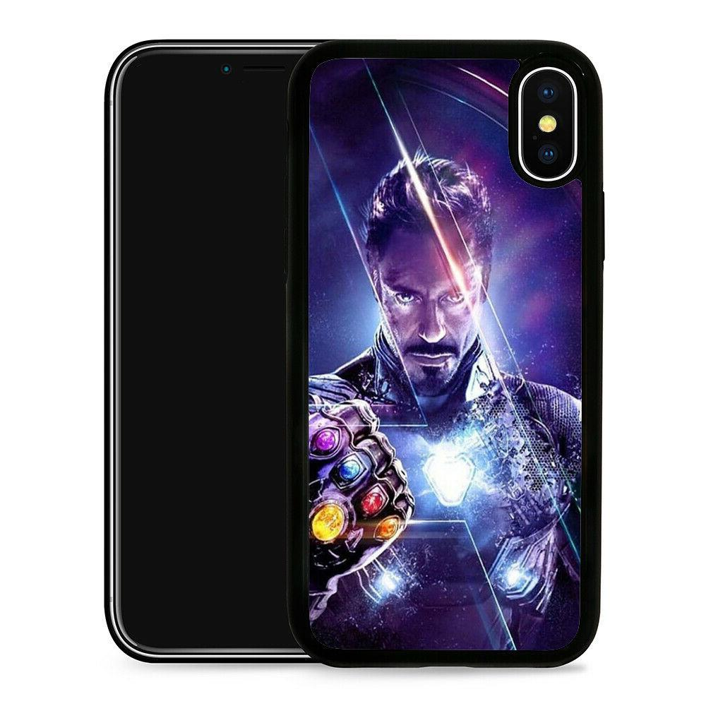 iron man protective phone case cover fits