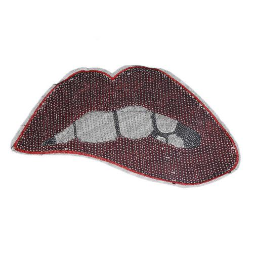 Lip Sequins Iron On Accessories