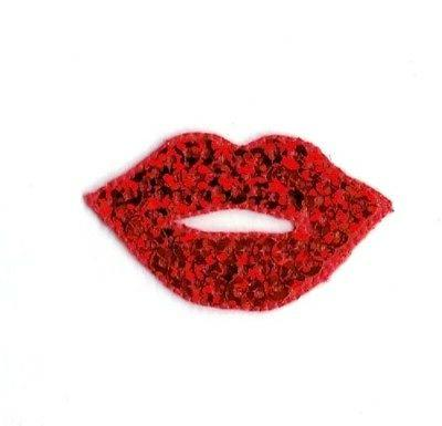 Lips - Hot Sequin - Patch/Iron on Applique