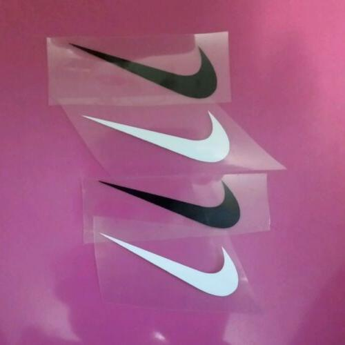 nike iron on decals set of 8