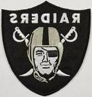 Oakland Raiders~Embroidered Iron On Patch~Free Shipping from