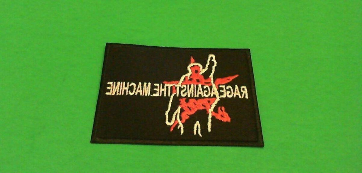 Rage Against Iron On Patch! New Tom Morello