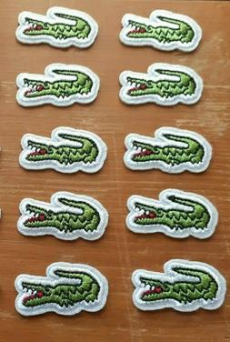Lacoste 10 Patch Lot NEW Iron On