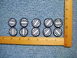 lot of 10 small volleyball iron on