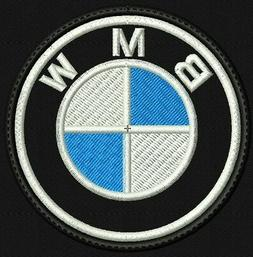 **LOVE IT OR IT'S FREE** BMW  Iron on Patch embroidered on B