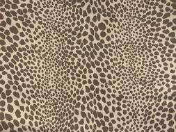 """Lt. Weight Leopard Denim 6""""x 9"""" Iron On """"Pretty Patches""""  by"""