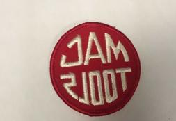 """MAC TOOLS  Embroidered iron on PATCH 2.5"""""""