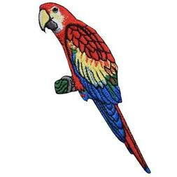 Macaw Parrot Applique Patch