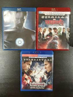Marvel 3 Collection Avengers Age of Ultron Iron Man Captain