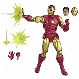 "Marvel Comics 80th Anniversary Legends Series 6""- Iron Man"