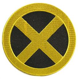 "J&C Marvel Comics X-Men Wolverine 4"" Logo Logan Embroidered"