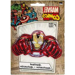 Application Marvel Comics Retro Iron Man Flying Patch