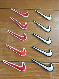 Nike Air Patch NEW Iron On or Sew NEW Lot of 10 Swoosh Great