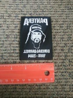 Pantera Dimebag Darrell Rock Band Sew or Iron on Patch NEW 1
