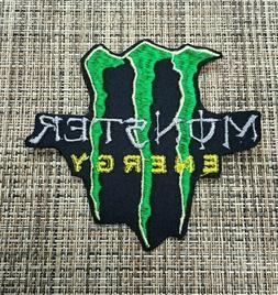 Patch Iron-On Monster Energy Embroidered Applique Kids