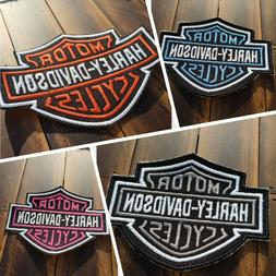 Patch Iron-On Harley-Davidson Logo Motorcycle Logo Letters A