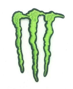 patch monster energy embroidered sew iron on