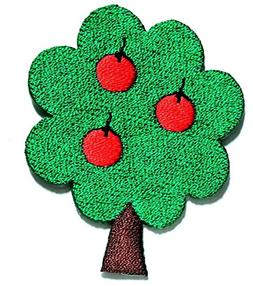 Nipitshop Patches Orange with Apples Fruit Tree Cartoon Kid