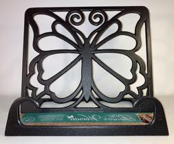 Pioneer Woman Timeless Beauty Butterfly Cast Iron Cookbook H