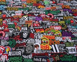 PROMOTION Lot Iron On Patch Wholesale Music Band Metal Punk