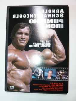 Pumping Iron DVD bodybuilding documentary movie 25th Anniver