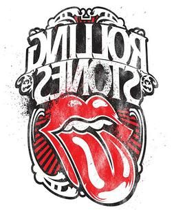 Rolling Stones Iron On Transfer For T-Shirt & Other Light Co