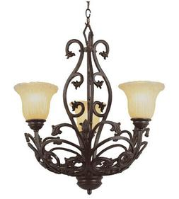 Rustic Wrought Iron Chandelier Trans Globe Lighting Entry Fo