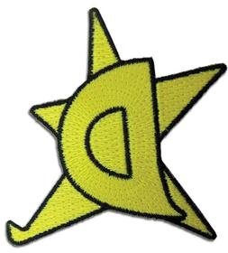 Space Dandy D-star iron on patch clothing accessory collecti