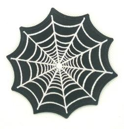 Spider Webs Nets Embroidered Sew Iron On Patch Badge Appliqu