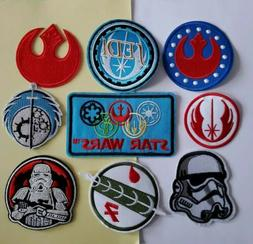 Star Wars Alliances 9pcs Embroidered Iron On Patches Appliqu