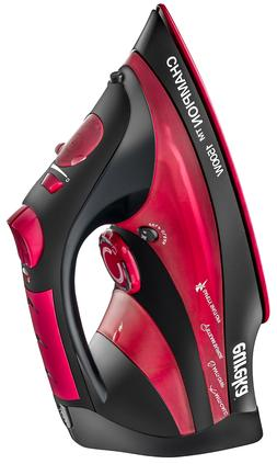 Steam Iron For Clothes Lightweight Powerful Super Hot 1500 W