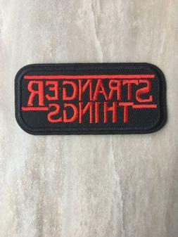 "Stranger Things PATCH - 3.25"" Iron-on Netflix TV New Vintage"