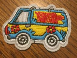 "The Mystery Machine Embroidered Patch 3"" x 2"" Iron / Sew"